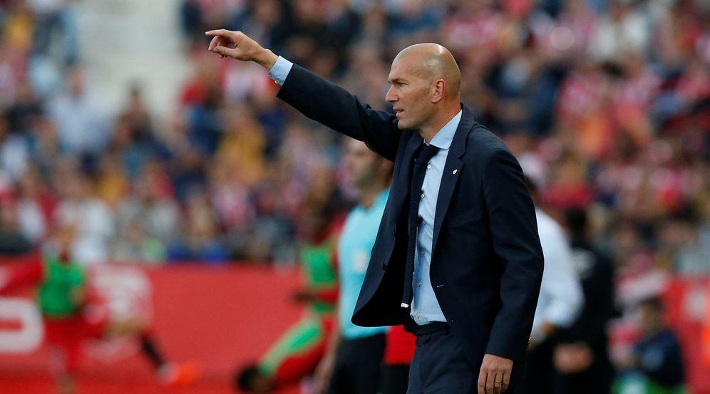 Foto: Zidane no encontró soluciones en Girona. (Reuters)