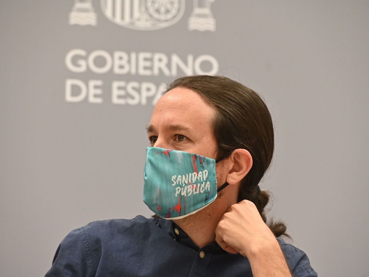 Foto: Pablo Iglesias en un reciente acto. (EFE)