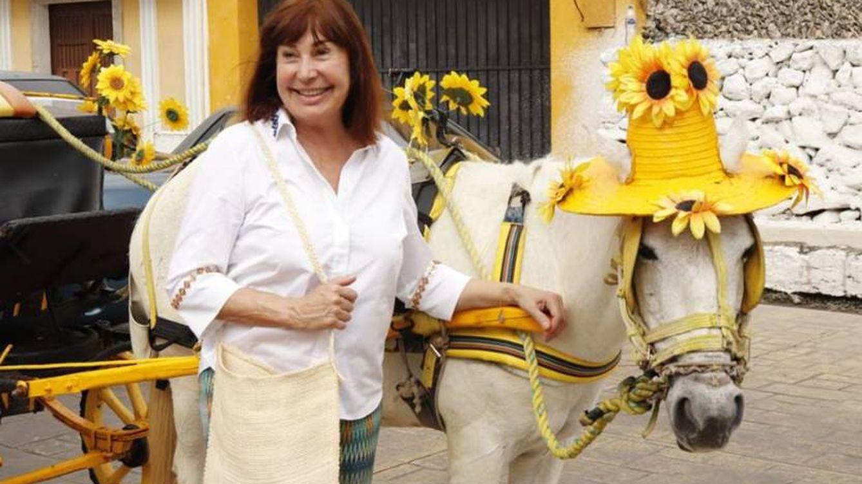 Carmen Martínez-Bordiú recibe el año en Yucatán con honores de reina madre