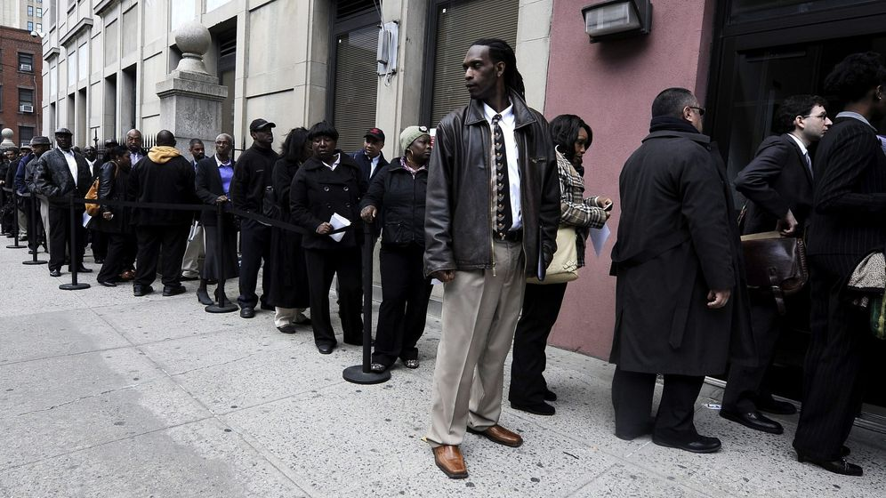 Foto: Desempleo en Estados Unidos (Efe)