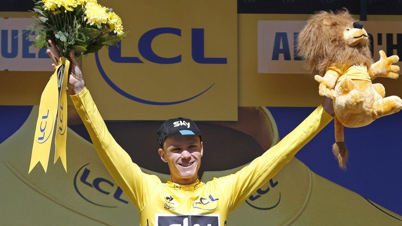 Foto: Froome consigue su segundo Tour de Francia (EFE).