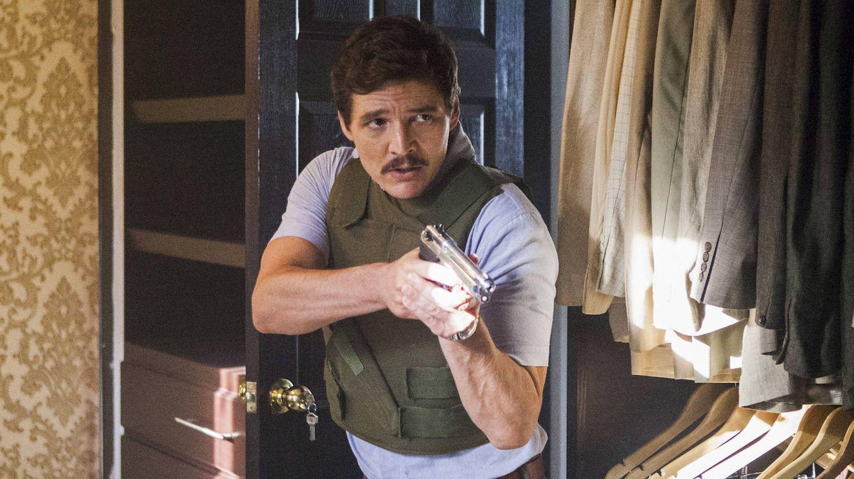 Imagen de Pedro Pascal en la tercera temporada de 'Narcos'