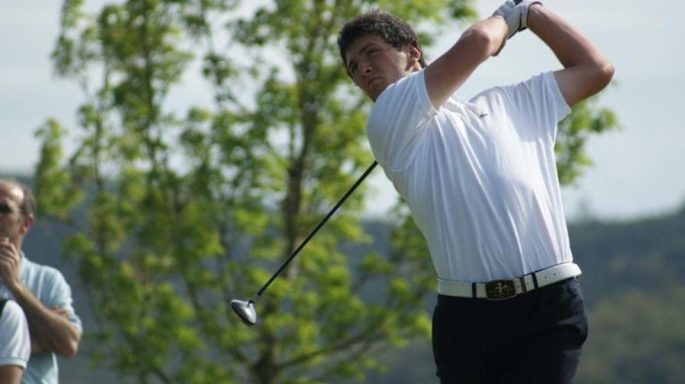 Foto: El español Jon Rahm, elegido mejor golfista amateur de 2015.