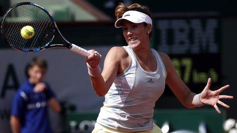 Muguruza termina su jornada laboral en Roland Garros en sólo una hora