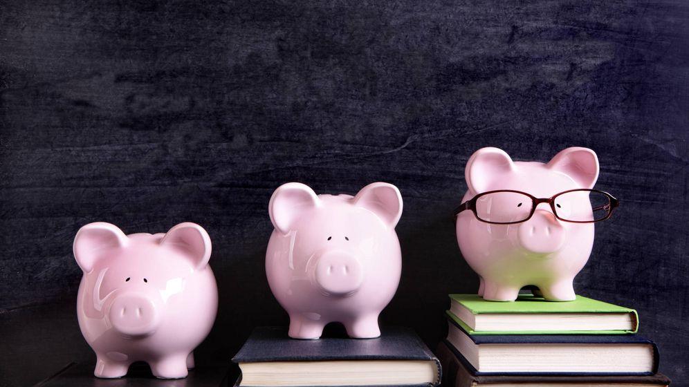 Foto: Huchas según cultura financiera.