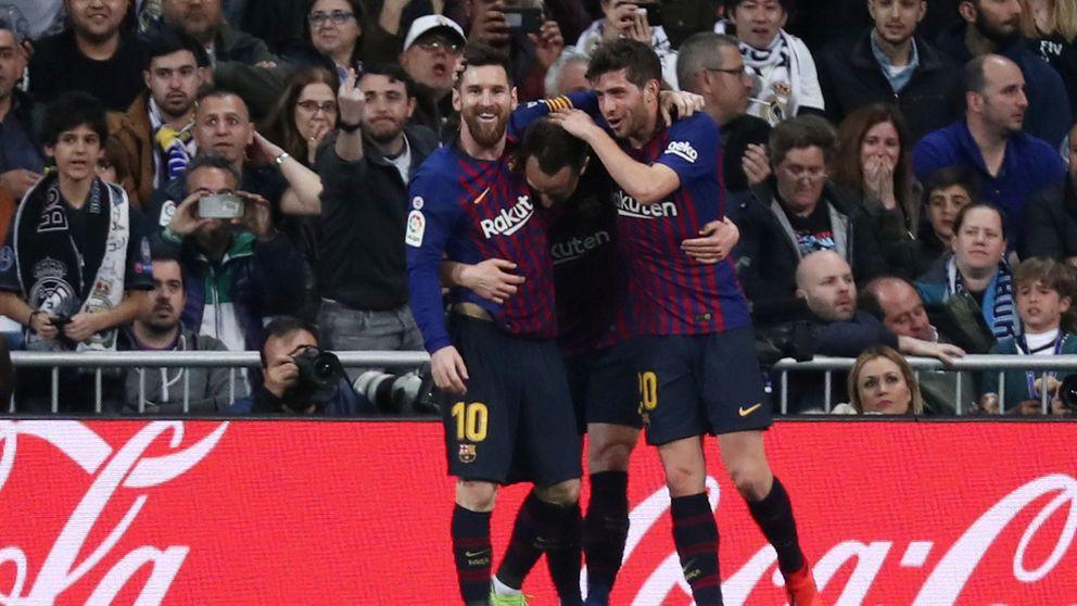 Real Madrid - FC Barcelona en directo: resumen, goles y resultado