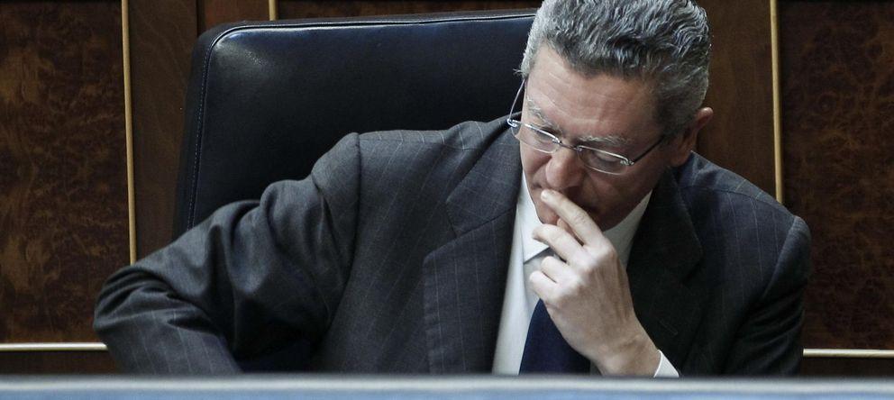 Foto: El ministro de Justicia, Alberto Ruiz-Gallardón. (EFE)