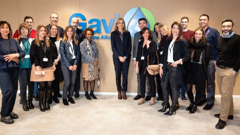La infanta Cristina, en un acto de Gavi Alliance, la alianza internacional para la vacunación. (Redes)