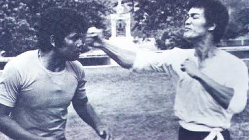 Así peleaba (de verdad) Bruce Lee