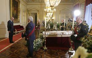 El funeral de Fabiola de Bélgica vuelve a unir a los Reyes eméritos