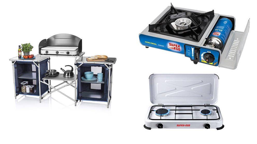 Las mejores cocinas de camping del mercado para disfrutar de tus vacaciones