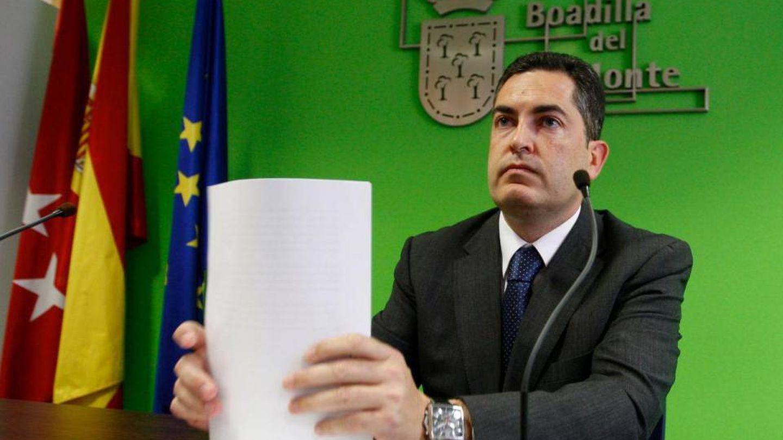 Juan Jesús Siguero, el alcalde de Boadilla con el que se inició el expediente