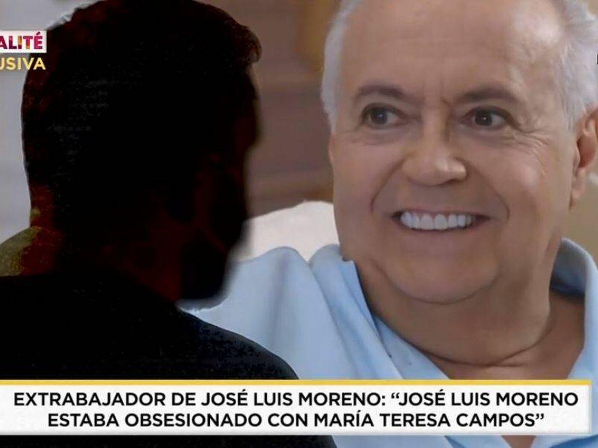 Foto: Un extrabajador de José Luis Moreno habla para 'Socialité'. (Mediaset)