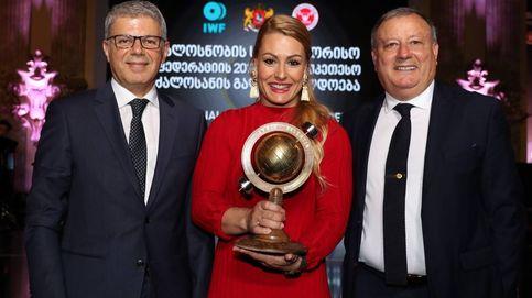Lydia Valentín, premiada como la mejor Halterófila del mundo