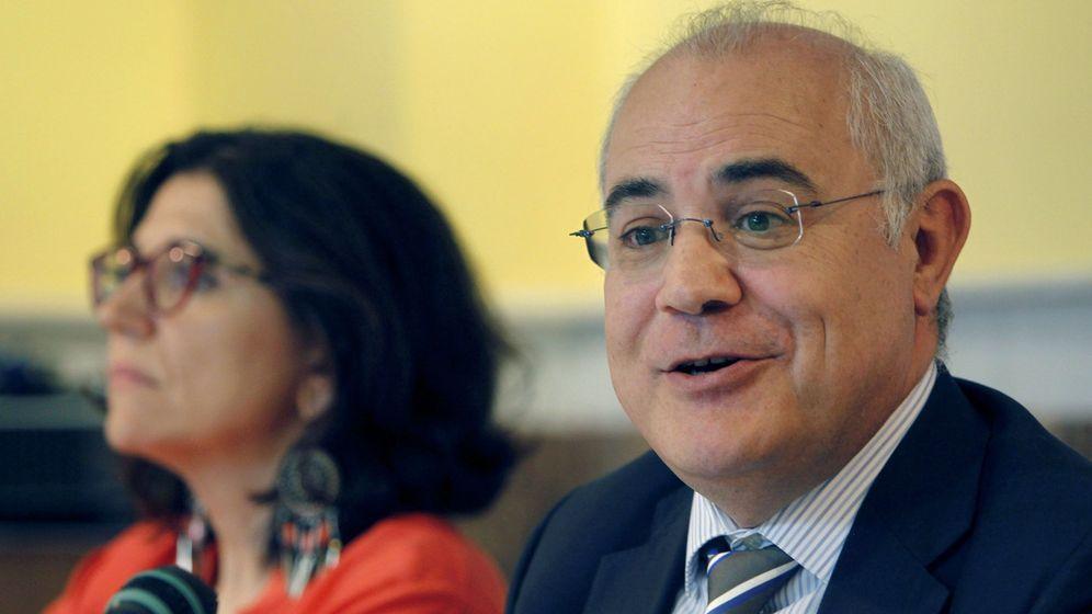 Foto: Pablo Llarena, ponente de una mesa redonda celebrada en julio. (EFE)