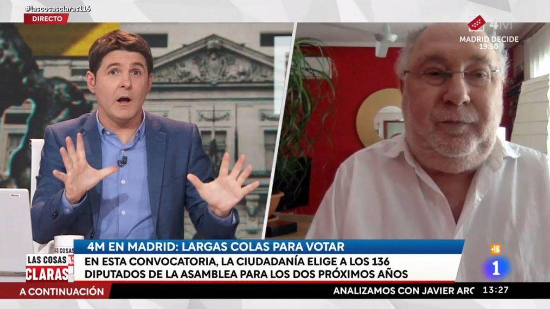 La 'cura de humildad' al PP de un tertuliano de Jesús Cintora por las elecciones de Madrid
