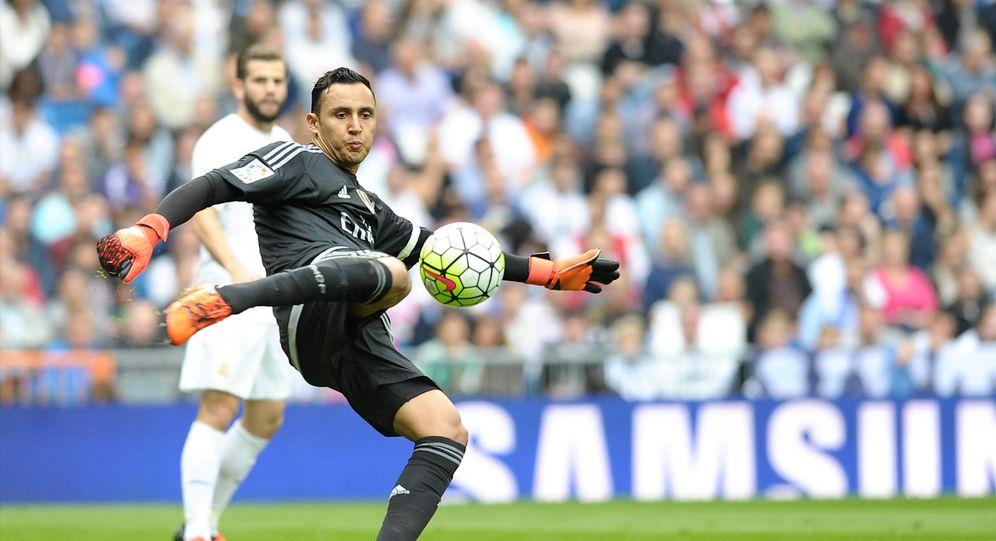 Foto: Keylor Navas está firmando una gran temporada en el Real Madrid (Cordon Press)