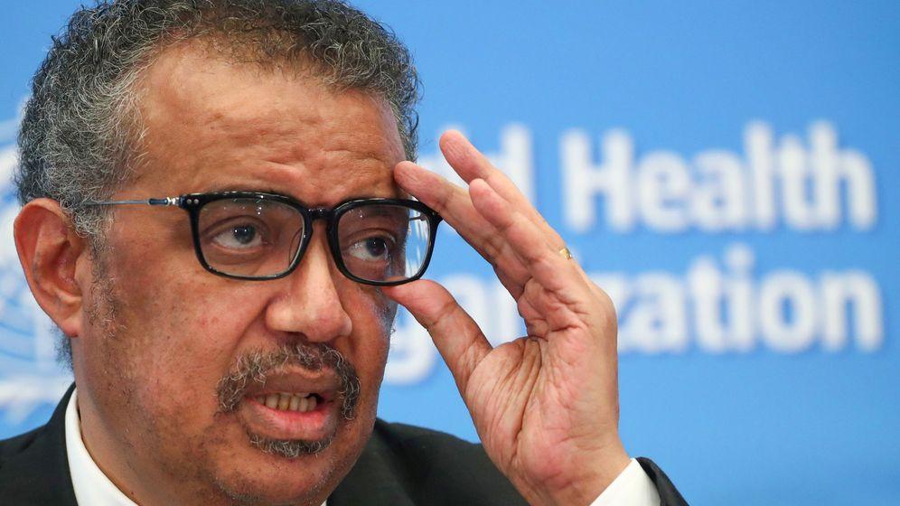 Foto: Tedros Adhanom Ghebreyesus, director general de la OMS. (Reuters)