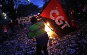Ya no se hacen huelgas como las de antes: la participación, en su mínimo histórico