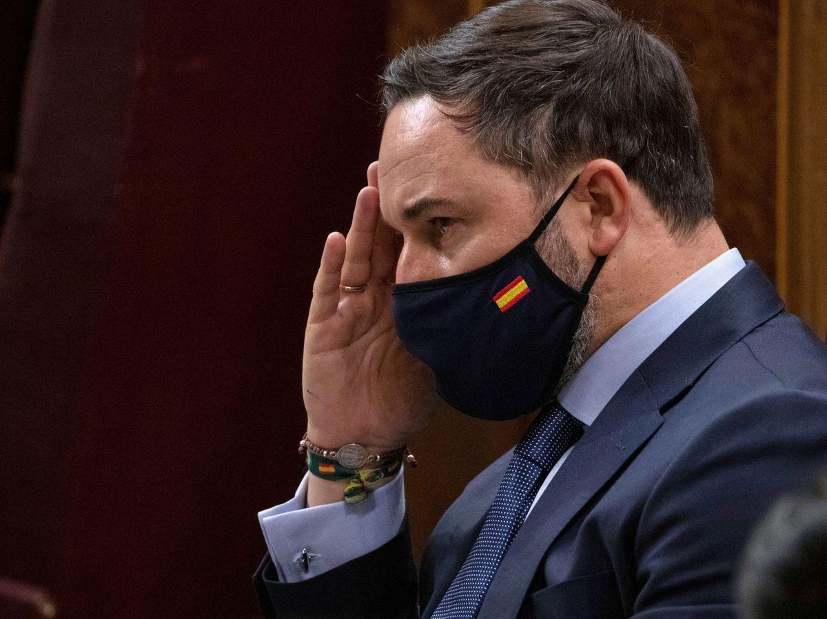 Foto: Santiago Abascal, en el Congreso. (Reuters)