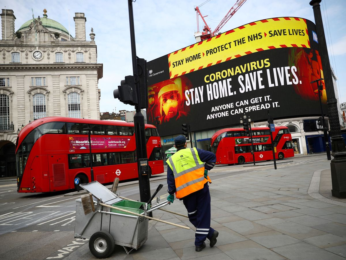 Foto: Piccadilly Circus en Londres (Reuters)