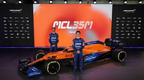 McLaren presenta su nuevo MCL35M con  Mercedes y un Daniel Ricciardo que se sale