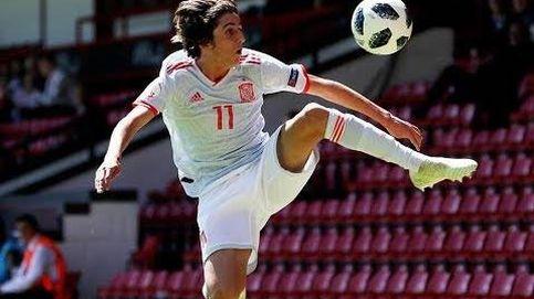 El gol a lo Messi de Bryan Gil con la Selección española sub-19