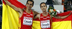 """Casado y Olmedo: """"Somos razón suficiente para que los periodistas vendáis sólo atletismo"""""""
