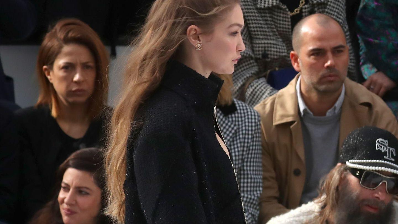 Gigi Hadid, durante el último desfile de Chanel. (EFE)