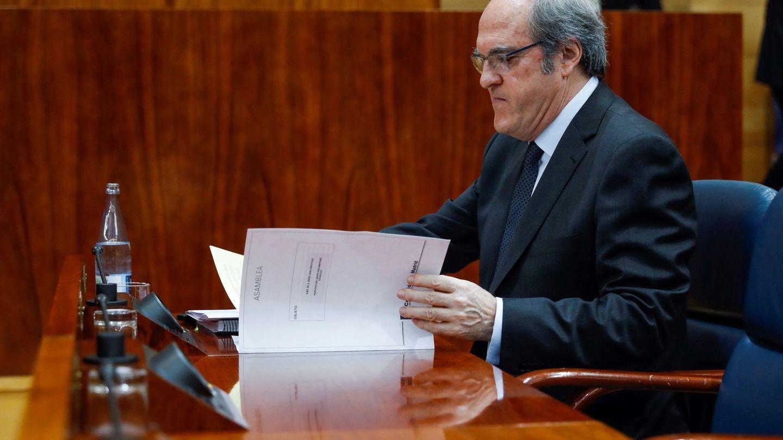 El portavoz socialista, Ángel Gabilondo. (EFE)