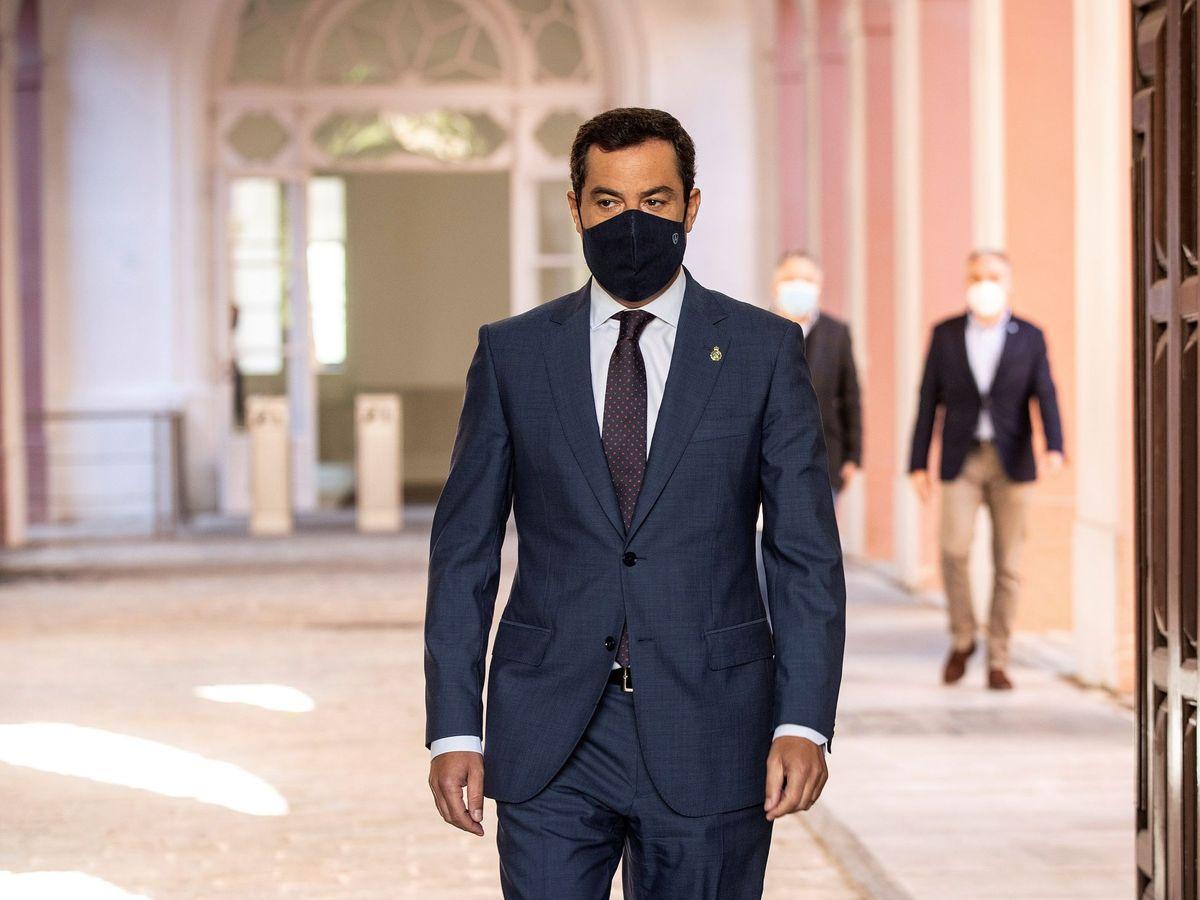 Foto: El presidente de la Junta, Juanma Moreno. (EFE)