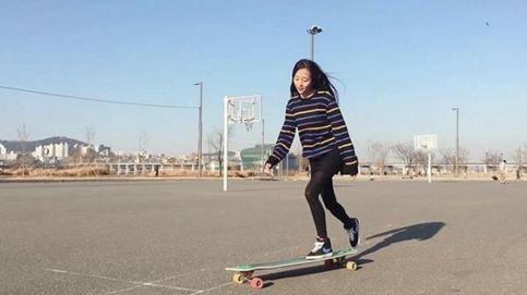 Hyojoo Ko, la joven 'skater' que acompaña sus paseos en monopatín con bailes