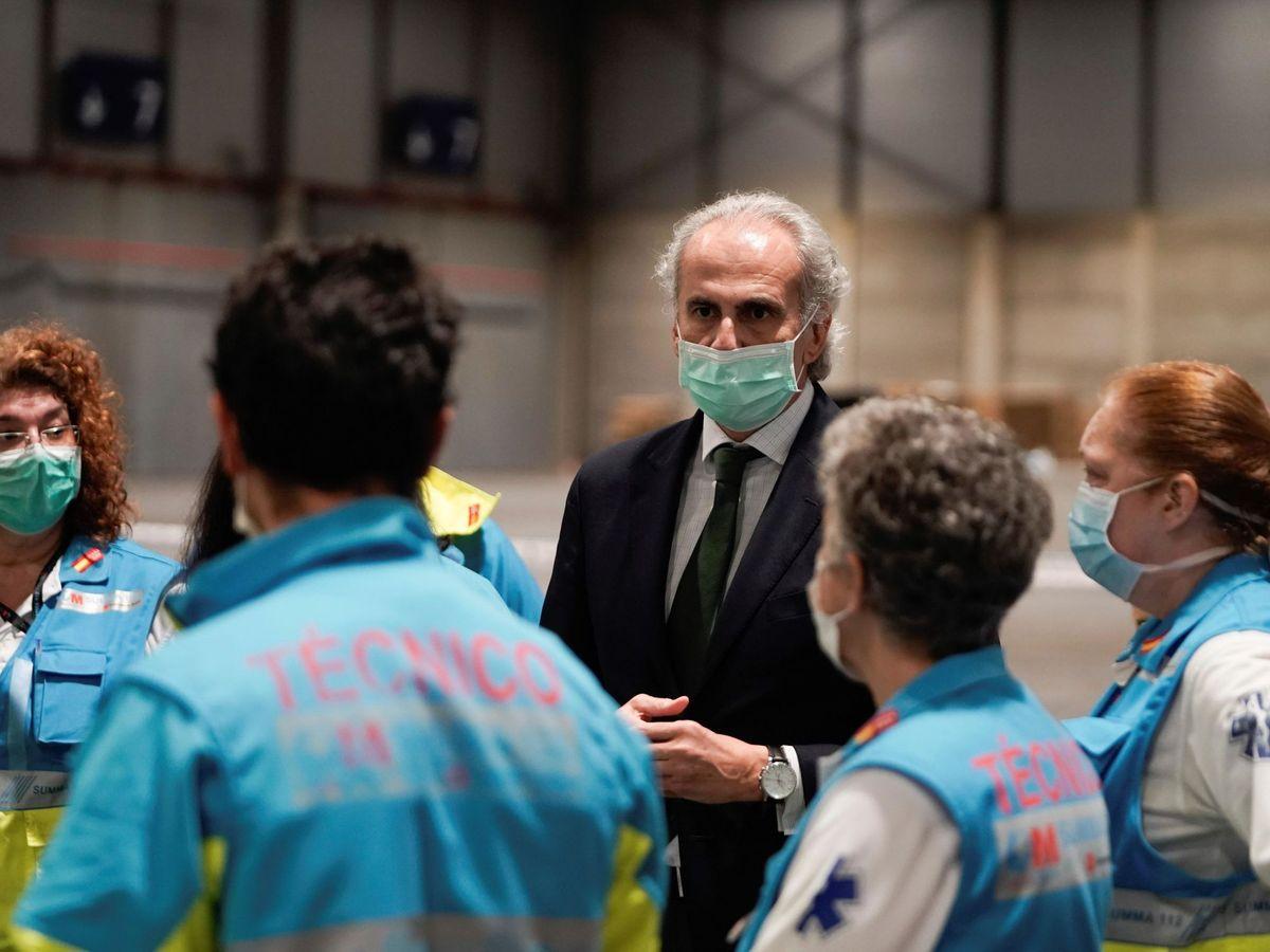 Foto: El consejero de Sanidad de Madrid, Enrique Ruíz Escudero (EFE)