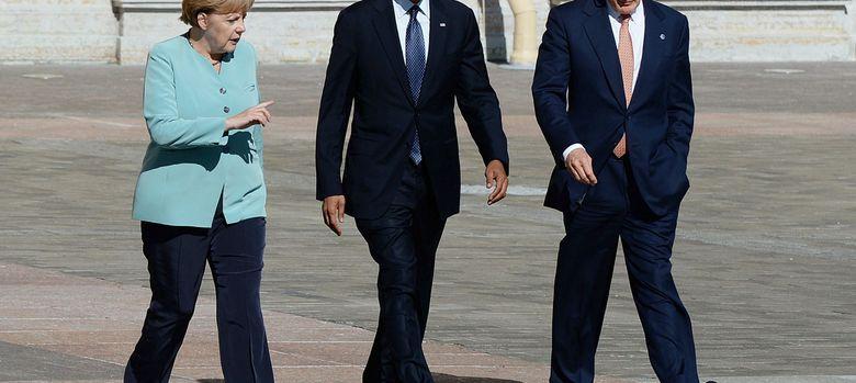 Foto: Angela Merkel y Barack Obama, en la cumbre del G20. (Efe)