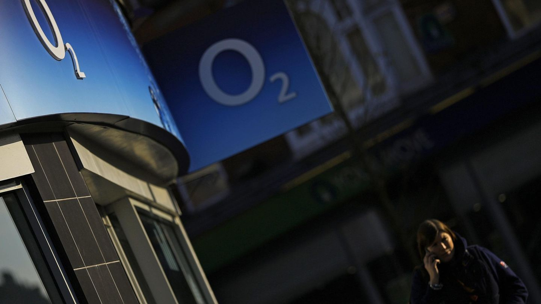 Tienda de O2 en Londres. (Reuters)