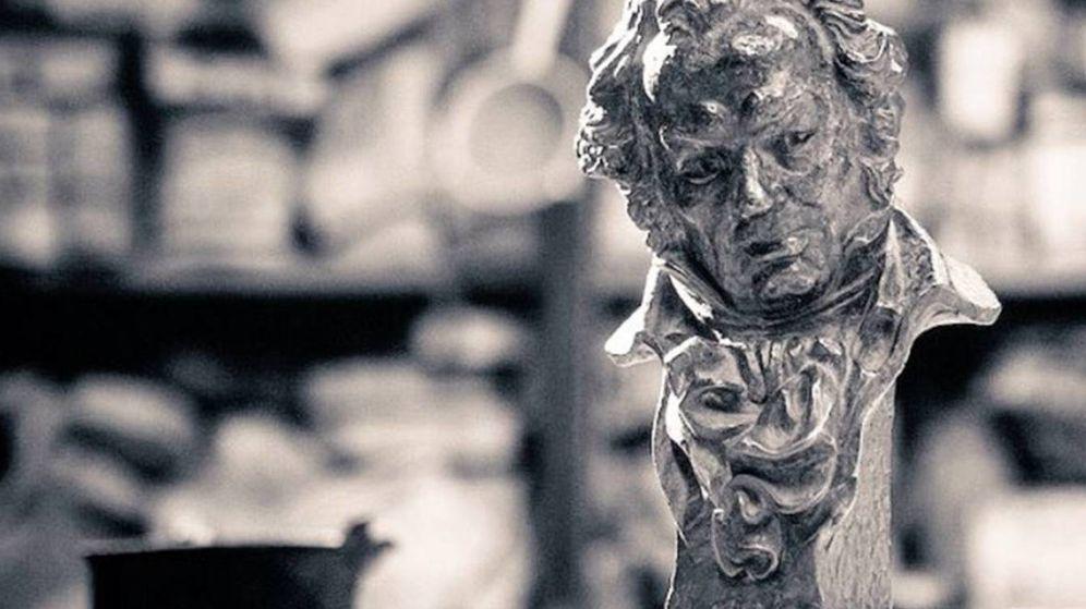 Foto: Estatuilla de los Premios Goya