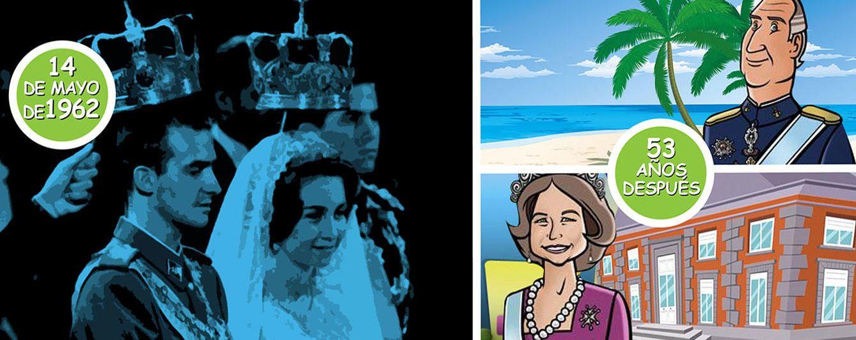 Don Juan Carlos celebra en el Caribe y en solitario su 53 aniversario de boda con Sofía