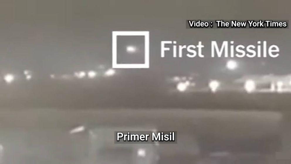 El vídeo que demuestra que fueron 2 los misiles que derribaron el avión en Irán