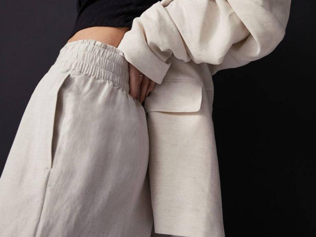 Foto: El pantalón de HyM. (Cortesía)