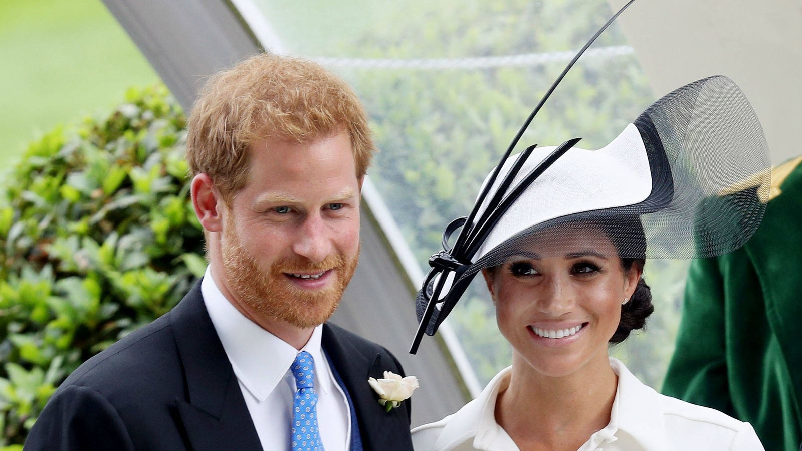 Foto: Harry y Meghan en Royal Ascot. (Getty)