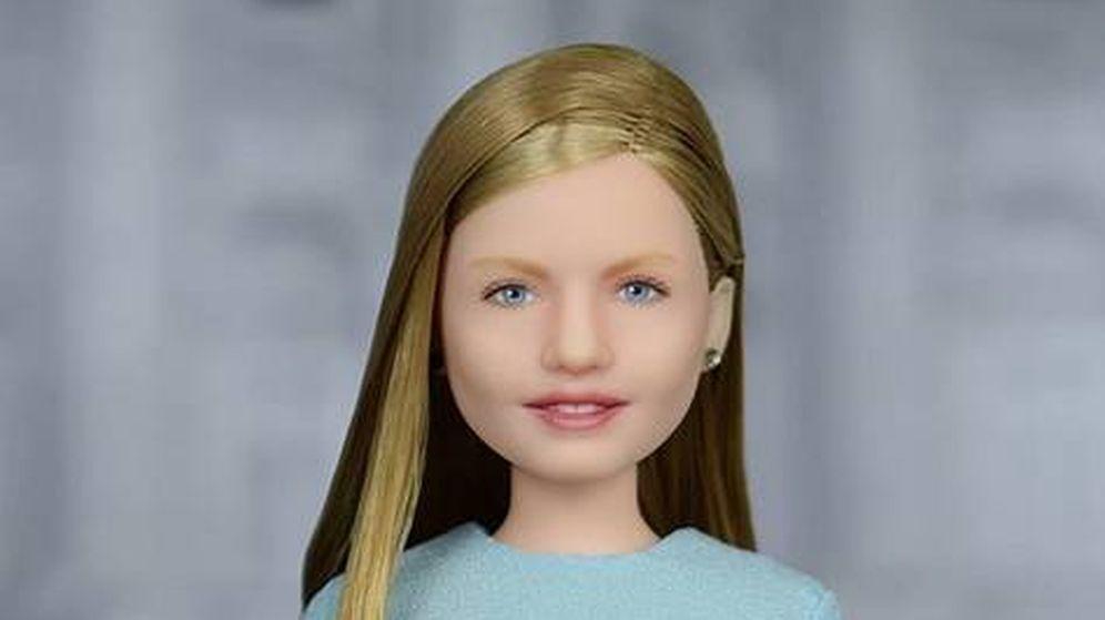 Foto: La princesa Leonor, versión muñeca. (AFD Group Dolls)