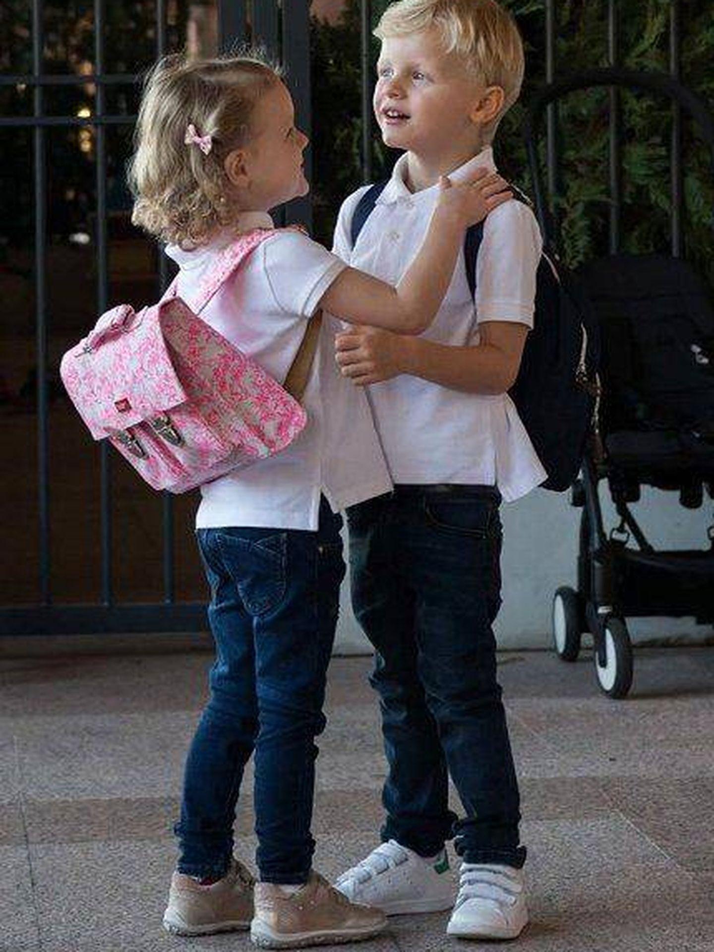 Jacques y Gabriella de Mónaco. (Instagram)
