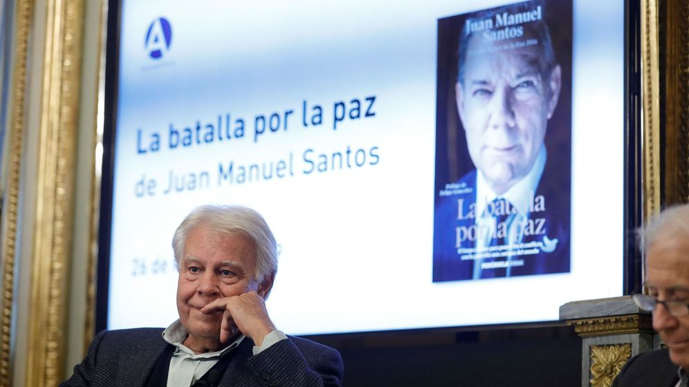 Foto: El expresidente Felipe González. (EFE)