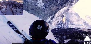 Post de El nuevo récord (sin querer) de Kilian Jornet… con esquíes y en película