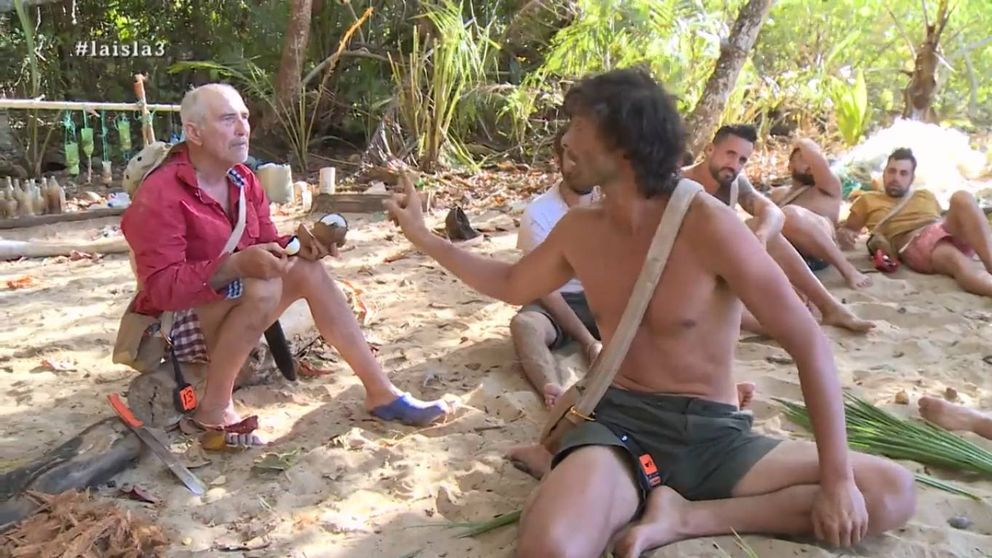 El egoísmo de Rafa enfurece a sus compañeros en 'La Isla'