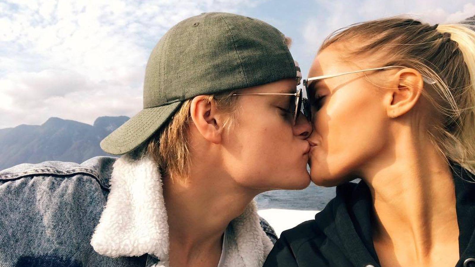 Foto:  Marius Borg y su novia. (Instagram)