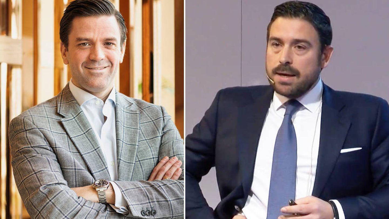 (De izquierda a derecha). Javier Pardo, exdirector comercial de NH para el sur de Europa; Manuel Melenchón, exdirector de operaciones de NH para España, Francia y Portugal.
