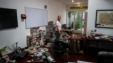 Así ha quedado la casa de Leopoldo López en Caracas después del robo