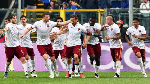 Totti y Spalletti tienen una intensa discusión, incluso con contacto físico