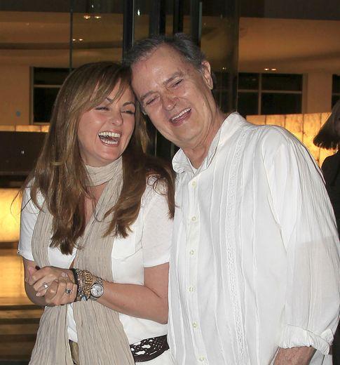 Junior junto a su hija Carmen Morales (Gtres)